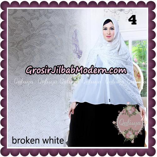 Jilbab Syari Modern Khimar Halwa Brukat Seri 5 Glitter Original by Qalisya Hijab Brand No 4