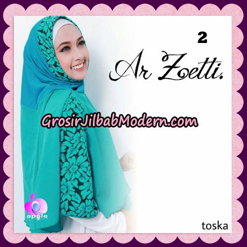 Jilbab Syari Terbaru Khimar Ar Zetti Original By Apple Hijab Brand No 2 Toska
