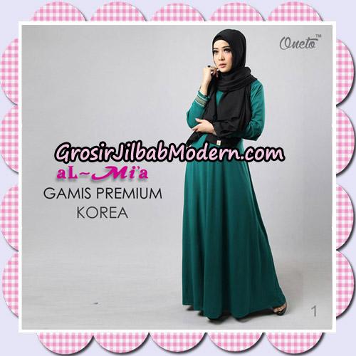 Gamis Premium Korea Cantik Original By Almia Brand No 1