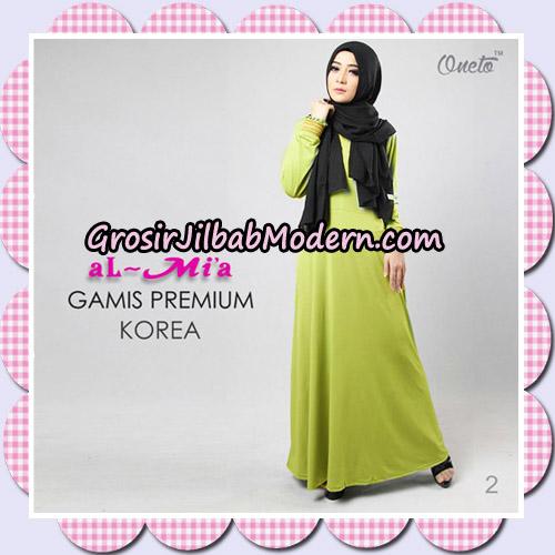 Gamis Premium Korea Cantik Original By Almia Brand No 2