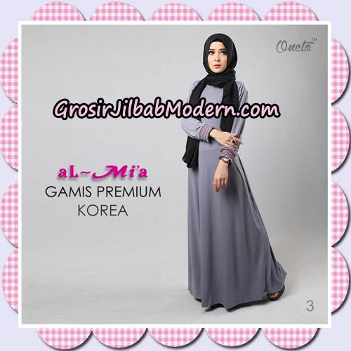 Gamis Premium Korea Cantik Original By Almia Brand No 3