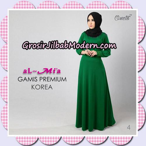 Gamis Premium Korea Cantik Original By Almia Brand No 4