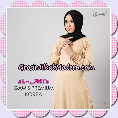 Gamis Premium Korea Cantik Original By Almia Brand No 8
