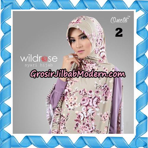 Hijab Syari Wildrose Original By Oneto Hijab Brand No 2