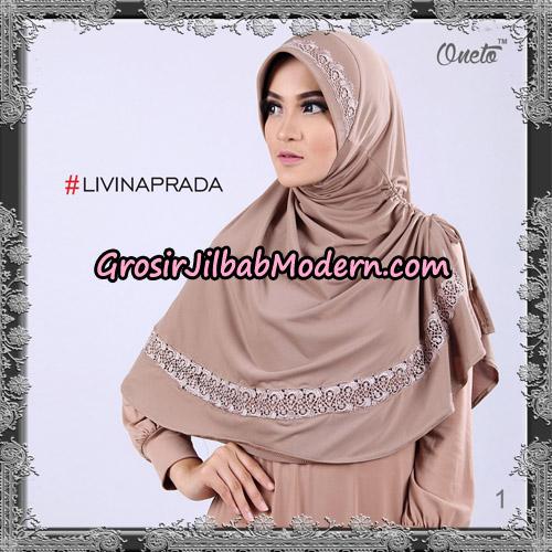 Jilbab Bergo Livina Prada Original By Oneto Hijab Brand No 1