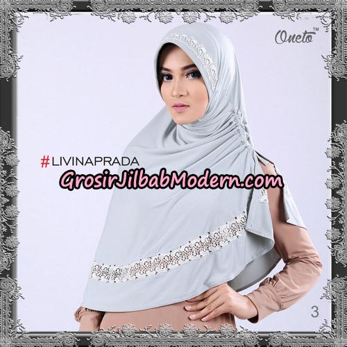 Jilbab Bergo Livina Prada Original By Oneto Hijab Brand No 3