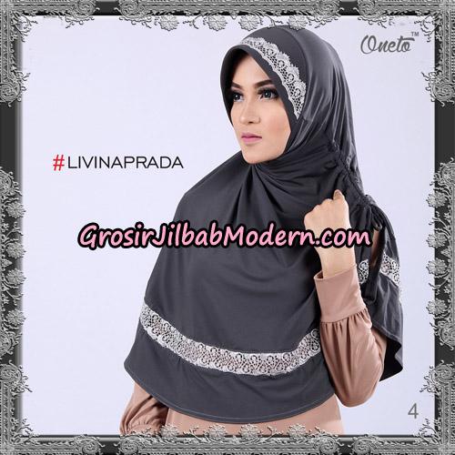 Jilbab Bergo Livina Prada Original By Oneto Hijab Brand No 4