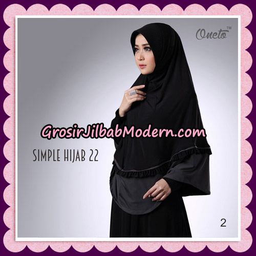 Jilbab Bergo Simple Hijab Seri 22 By Firza Hijab Support Oneto No 2