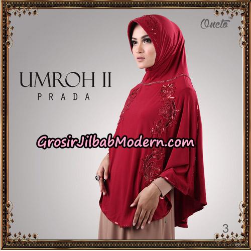 Jilbab Bergo Umroh II Prada Support Oneto Hijab No 3