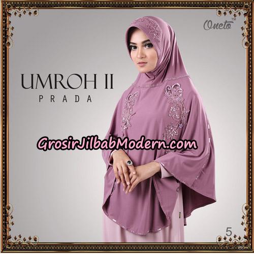 Jilbab Bergo Umroh II Prada Support Oneto Hijab No 5