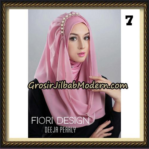 Jilbab Instant Deeja Pearly Cantik Original by Fiori Design No 7