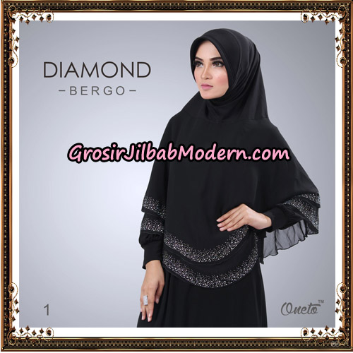 Jilbab Instant Diamond Bergo Elegant Support Oneto Hijab No 1