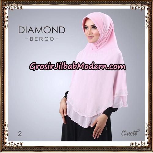 Jilbab Instant Diamond Bergo Elegant Support Oneto Hijab No 2