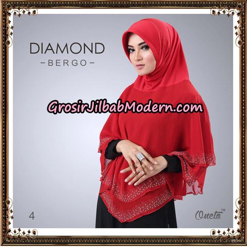Jilbab Instant Diamond Bergo Elegant Support Oneto Hijab No 4