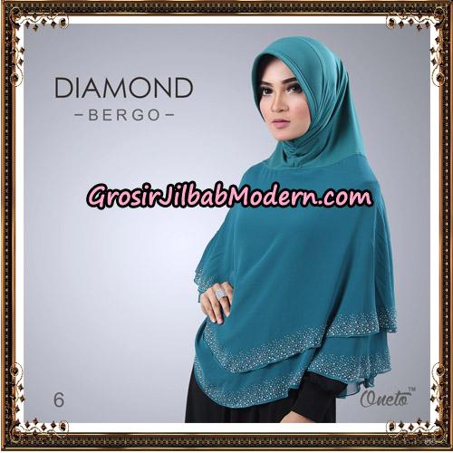 Jilbab Instant Diamond Bergo Elegant Support Oneto Hijab No 6