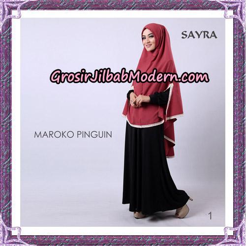 Jilbab Instant Maroko Pinguin Original By Sayra Hijab Brand No 1