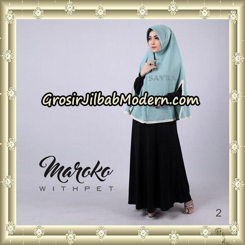 Jilbab Instant Maroko WithPet Original By Sayra Hijab Brand No 2