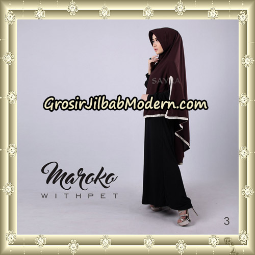 Jilbab Instant Maroko WithPet Original By Sayra Hijab Brand No 3
