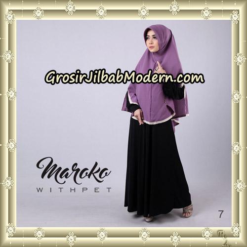 Jilbab Instant Maroko WithPet Original By Sayra Hijab Brand No 7