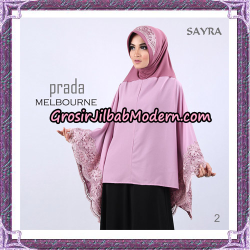Jilbab Instant Prada Melbourne Original By Sayra Hijab Brand No 2