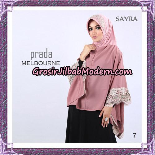 Jilbab Instant Prada Melbourne Original By Sayra Hijab Brand No 7
