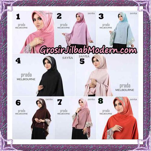 Jilbab Instant Prada Melbourne Original By Sayra Hijab Brand