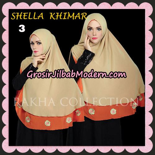 Jilbab Instant Shella Khimar Original By Rakha Hijab Brand No 3