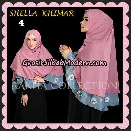 Jilbab Instant Shella Khimar Original By Rakha Hijab Brand No 4