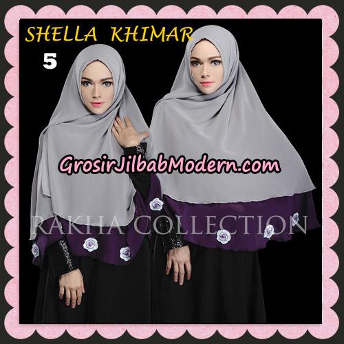 Jilbab Instant Shella Khimar Original By Rakha Hijab Brand No 5