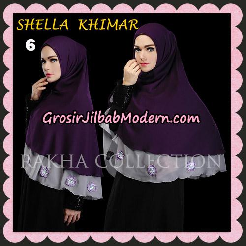 Jilbab Instant Shella Khimar Original By Rakha Hijab Brand No 6