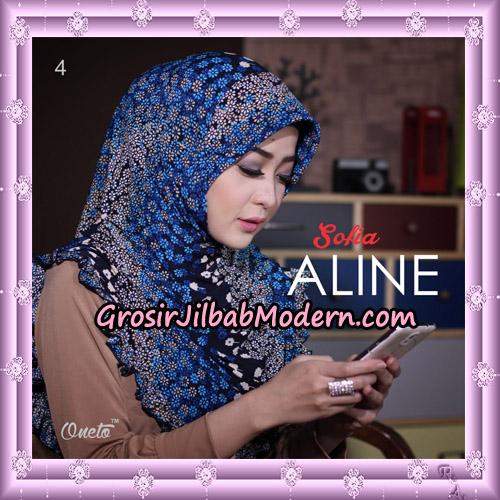 Jilbab Instant Sofia Aline Original By Oneto Hijab Brand No 4