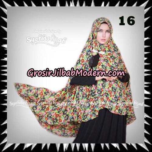 Jilbab Khimar Cardy Sabiha Original By Syahida Brand No 16