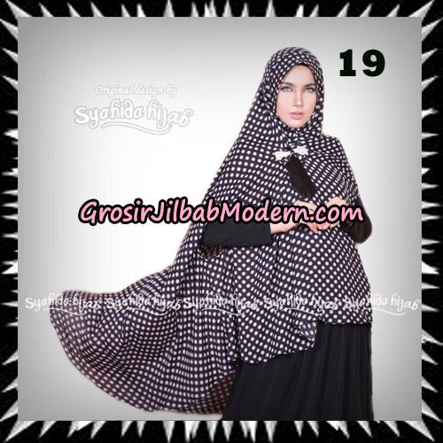Jilbab Khimar Cardy Sabiha Original By Syahida Brand No 19