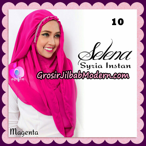 Jilbab Syria Instan Selena By Apple Hijab Brand No 10