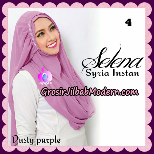 Jilbab Syria Instan Selena By Apple Hijab Brand No 4