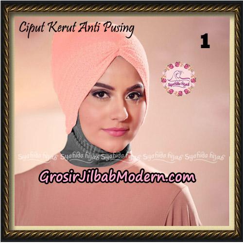 Ciput Kerut Anti Pusing Original By Syahida Brand No 1