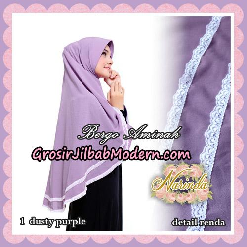 Jilbab Bergo Aminah Original By Narinda Hijab Brand No 1