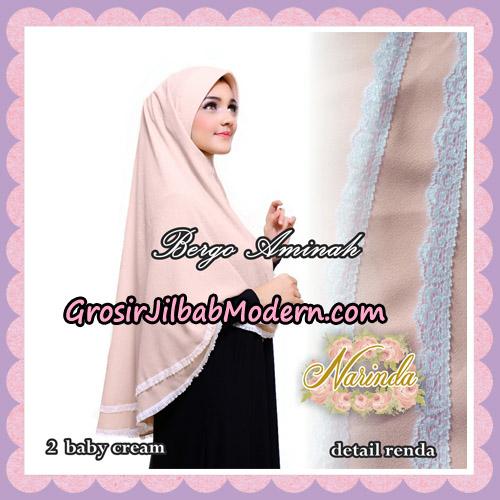 Jilbab Bergo Aminah Original By Narinda Hijab Brand No 2