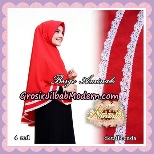 Jilbab Bergo Aminah Original By Narinda Hijab Brand No 4