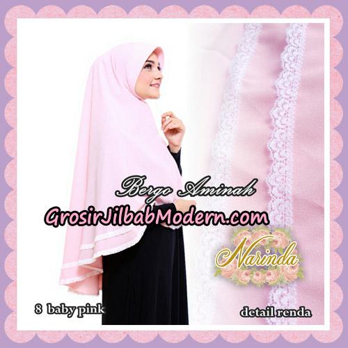 Jilbab Bergo Aminah Original By Narinda Hijab Brand No 8