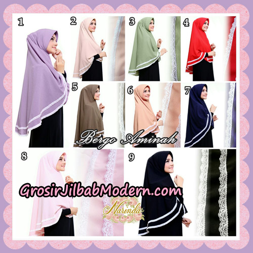 Jilbab Bergo Aminah Original By Narinda Hijab Brand