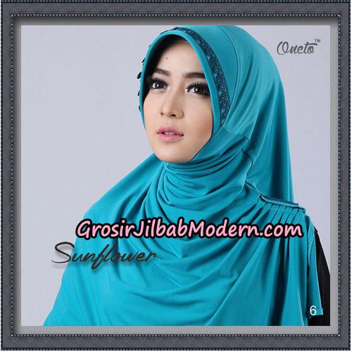 Jilbab Cantik Bergo Sunflower Original By Oneto Hijab Brand NO 6