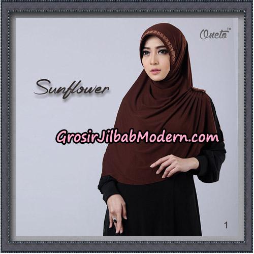 Jilbab Cantik Bergo Sunflower Original By Oneto Hijab Brand No 1