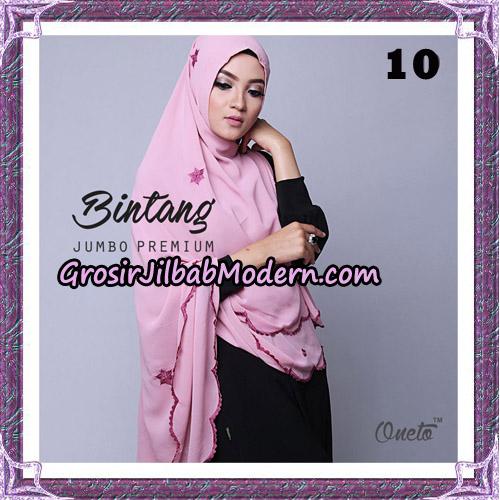 Jilbab Cantik Khimar Bintang Jumbo Premium Original By Oneto Hijab Brand No 10