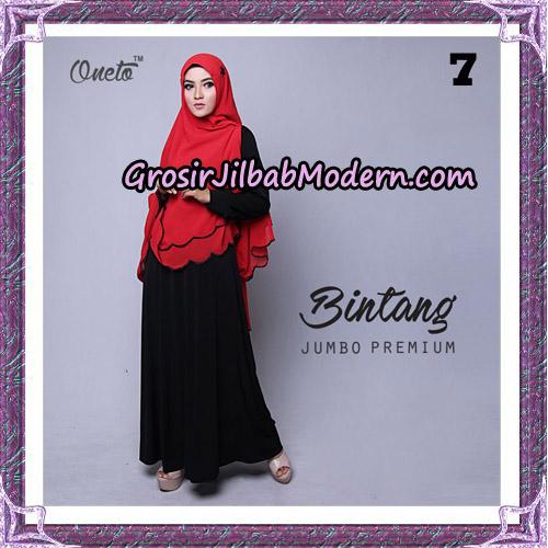 Jilbab Cantik Khimar Bintang Jumbo Premium Original By Oneto Hijab Brand No 7