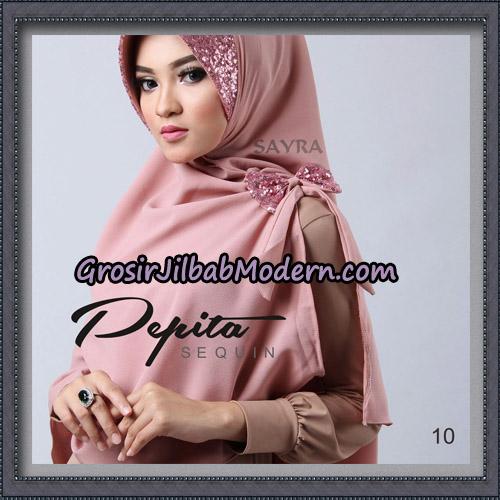 Jilbab Cantik Pepita Sequin Original By Sayra Hijab Brand No 10