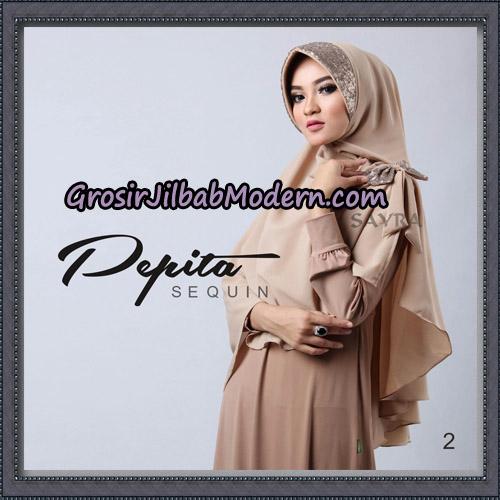 Jilbab Cantik Pepita Sequin Original By Sayra Hijab Brand No 2