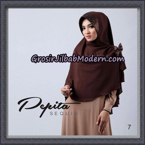 Jilbab Cantik Pepita Sequin Original By Sayra Hijab Brand No 7