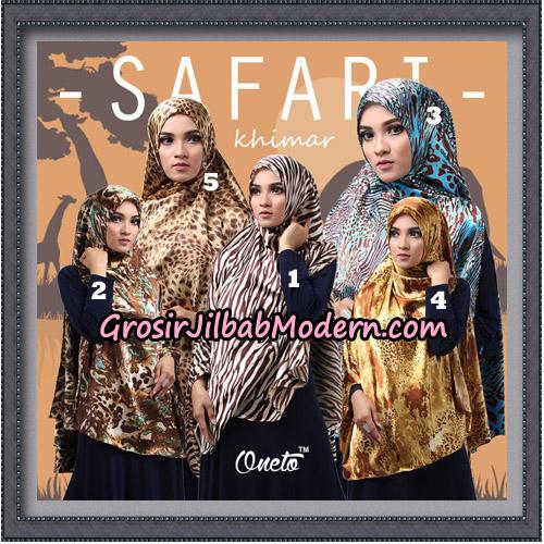 Jilbab Cantik Safari Khimar Original By Oneto Hijab Brand