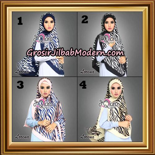 Jilbab Instant Cantik Khimar Lorena Original By dQiara Hijab Brand